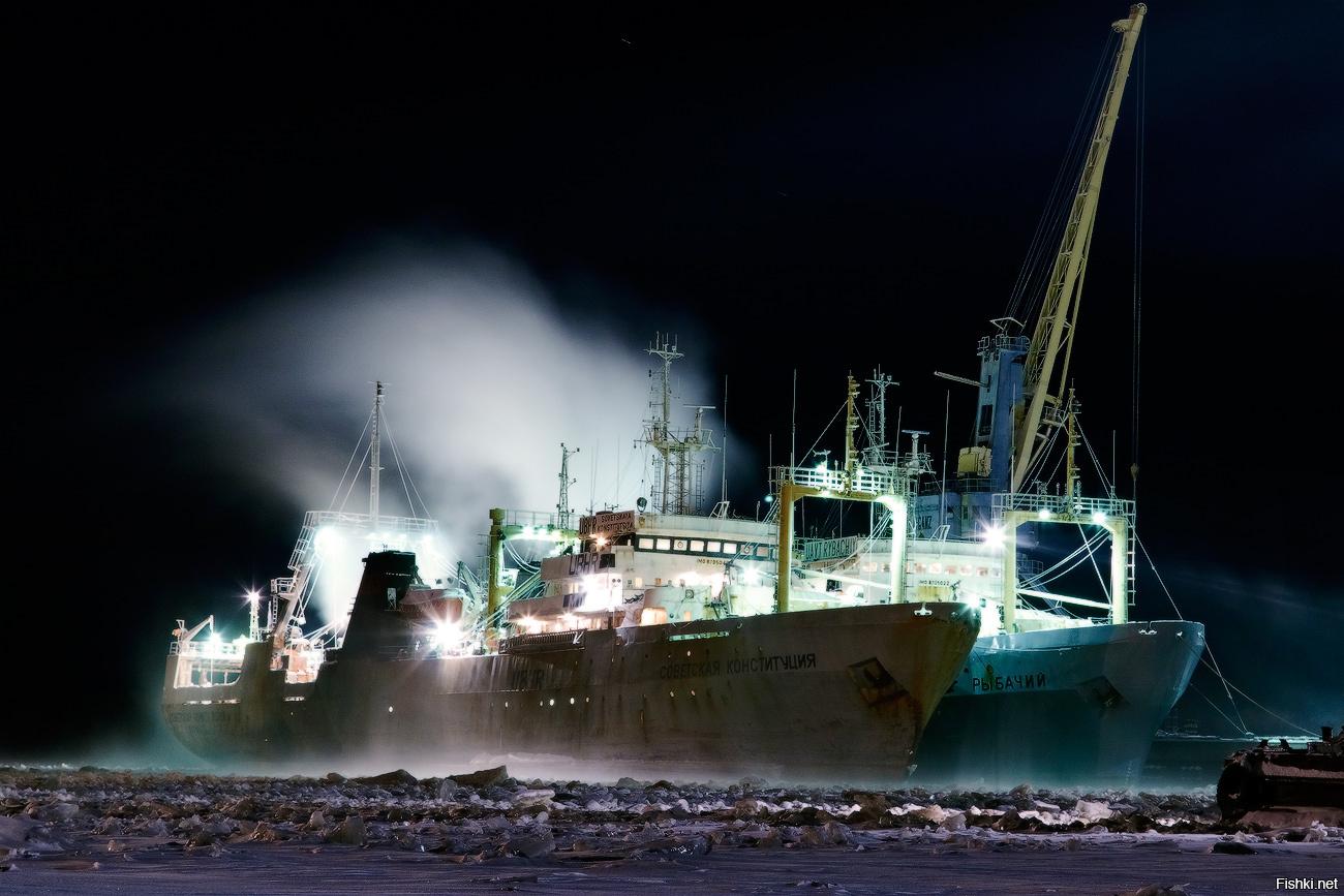 Фото рыбопромысловых судов