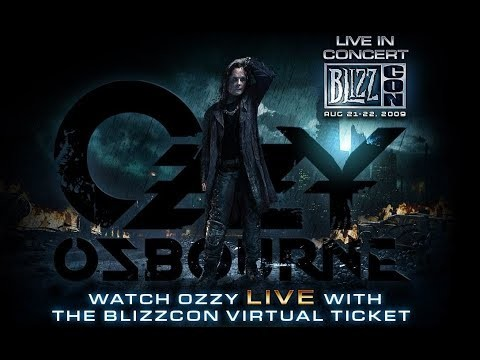 Ozzy Osbourne - Live at BlizzCon (2009 г., Heavy metal)