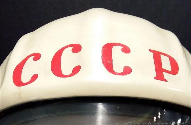 """Откуда взялась надпись """"СССР"""" на шлеме Гагарина СССР, гагарин, на шлем, надпись"""