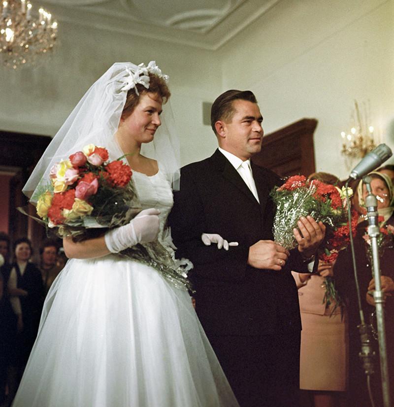 валентина терешкова свадьба