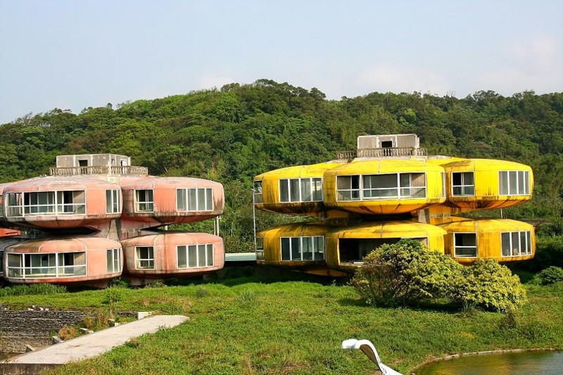 Санжи Под, Тайвань брошенные жилища, города, история, опустевшие города, оставленные дома, призраки, страшилки