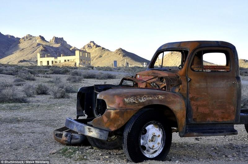 Риолит, Невада брошенные жилища, города, история, опустевшие города, оставленные дома, призраки, страшилки