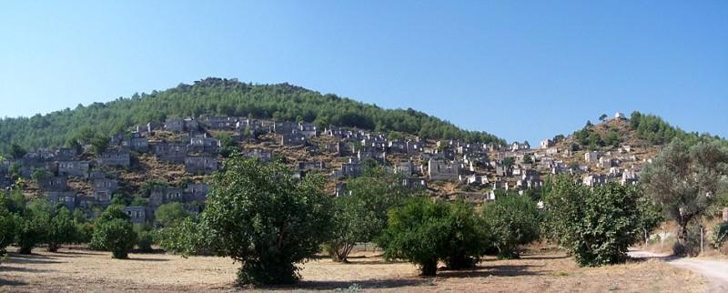 Каякей, Турция брошенные жилища, города, история, опустевшие города, оставленные дома, призраки, страшилки
