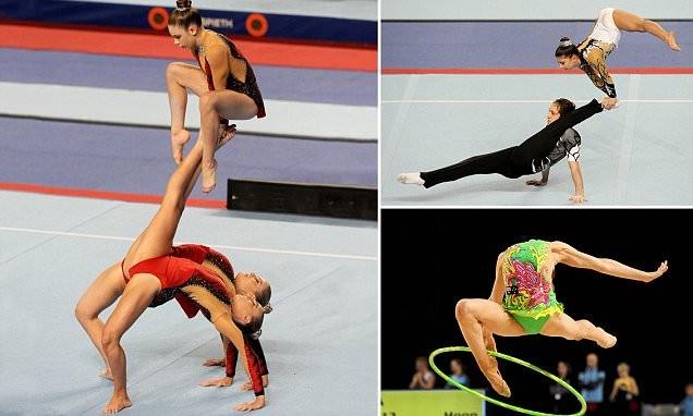 Гимнастка в камере пыток