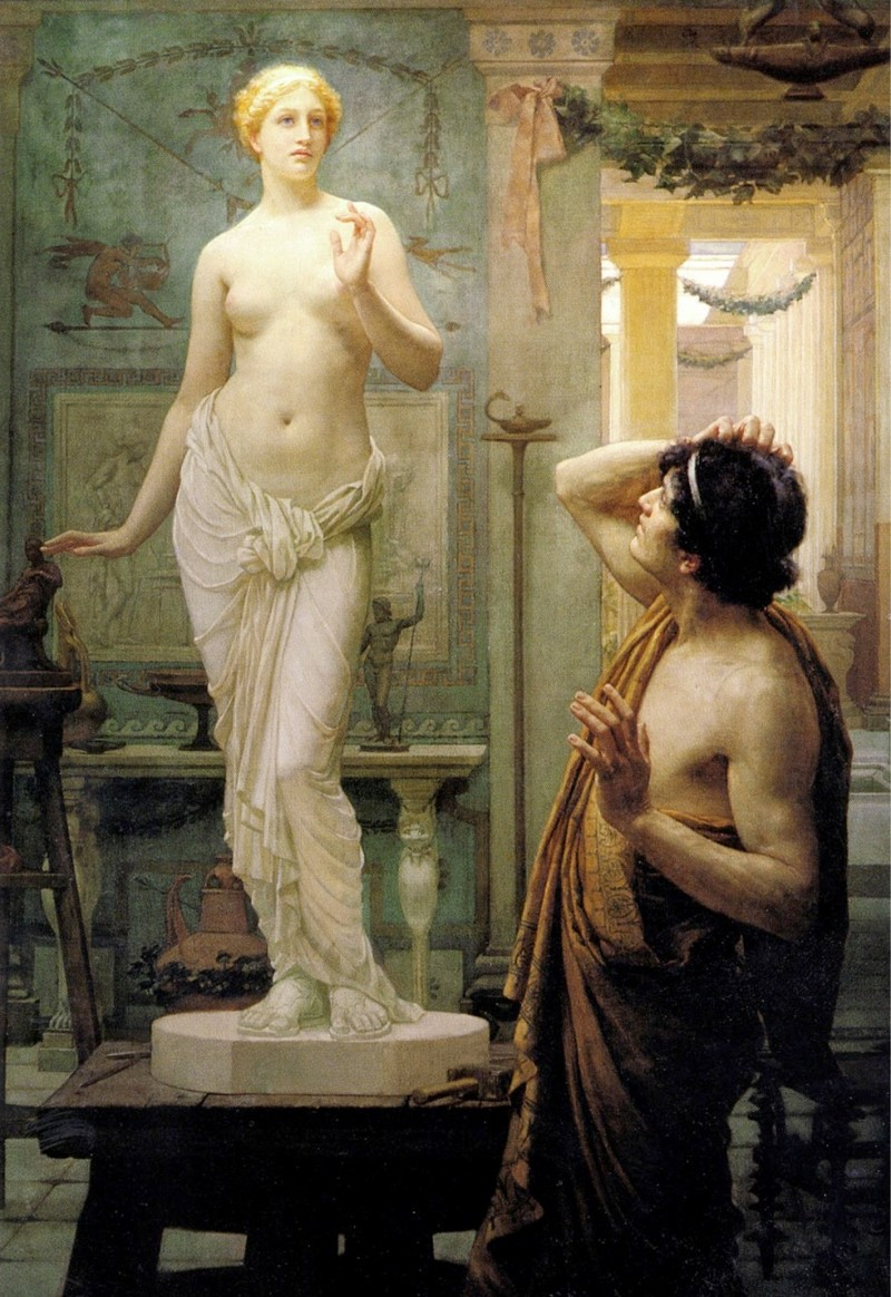 an analysis of the topic of the greek myth of pygmalion Summary and analysis: greek mythology pygmalion, vertumnus and pomona, hero and leander, cupid and psyche about norse mythology.