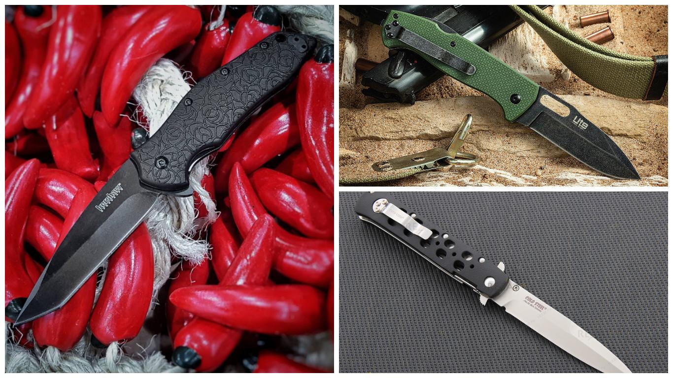 Самые распространённые и красивые складные ножи ножи, оружие, холодное оружие