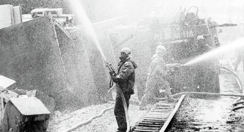 Цвет глаз одного из пожарных изменился после излучения Припять, Чернобыль, взрыв, катастрофа, радиация, факты, фото, чернобыльская катастрофа