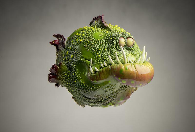 Очаровательный Гинтер art, креатив, куклы, полимерная глина, ручная работа, рыбы, творчество, фото