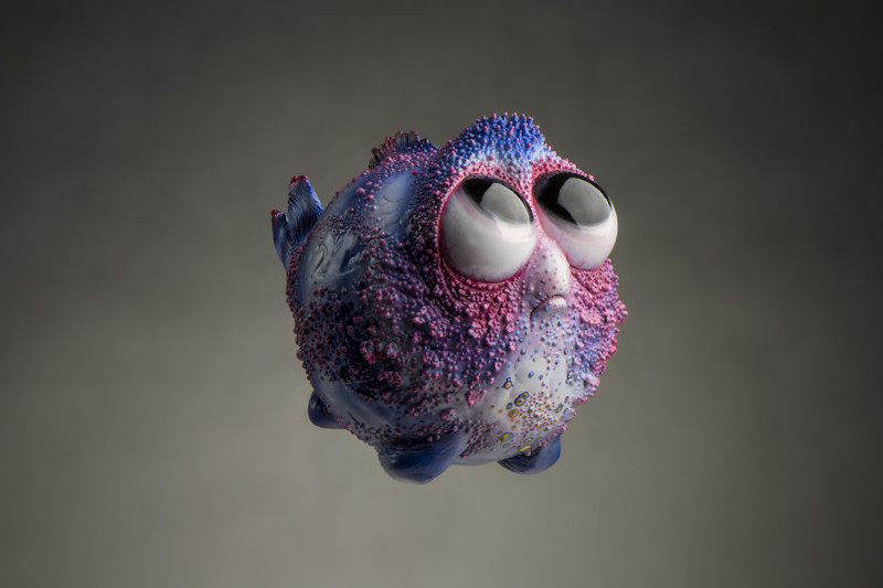 Рыбка Бабетта art, креатив, куклы, полимерная глина, ручная работа, рыбы, творчество, фото