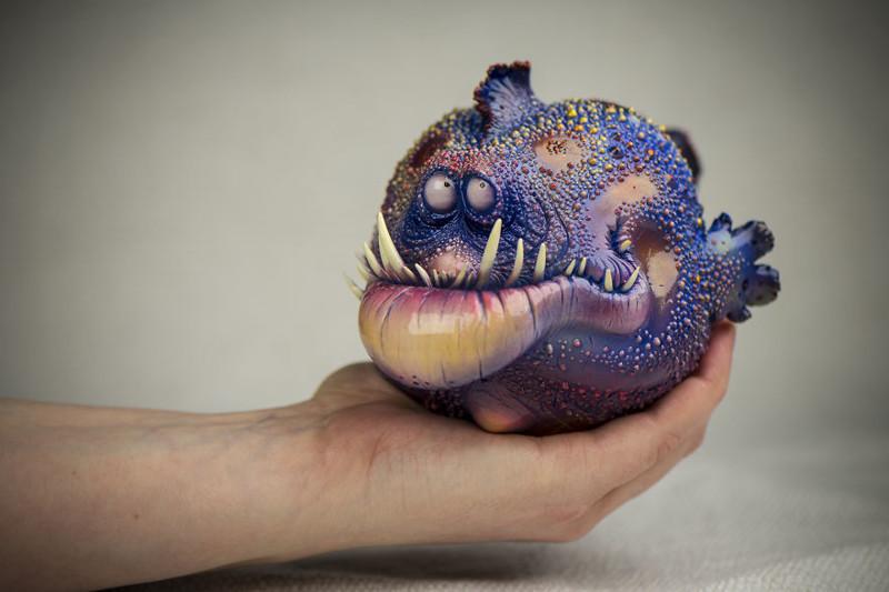 Рыба Криспин art, креатив, куклы, полимерная глина, ручная работа, рыбы, творчество, фото