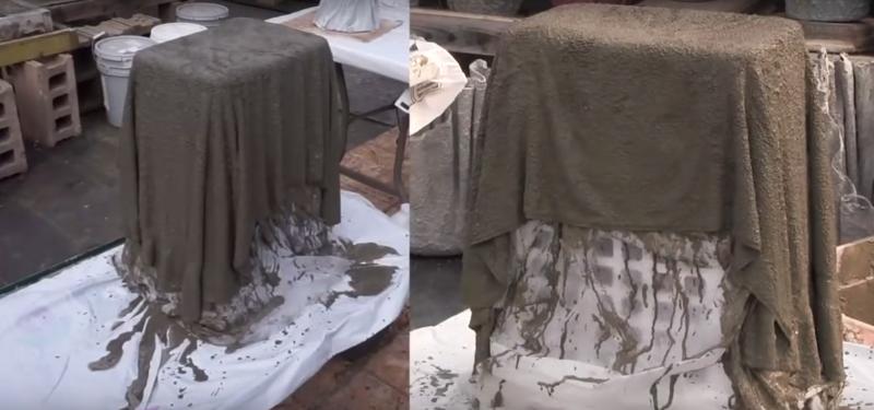 Картинки по запросу Удивительную штуку можно сделать из полотенца, пропитанного цементным раствором