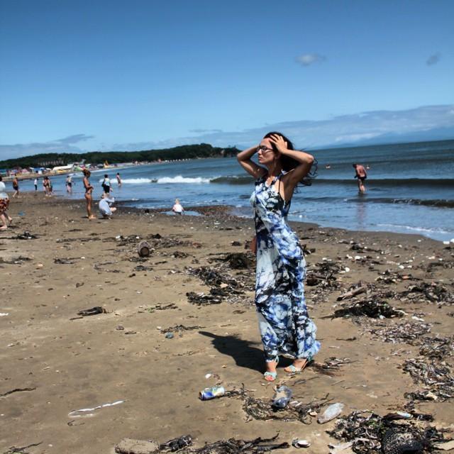 Пляж во Владивостоке купаться запрещено, пляжи россии, природа, россия, фото