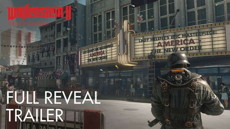 На E3 показали ролик Wolfenstein II: The New Colossus