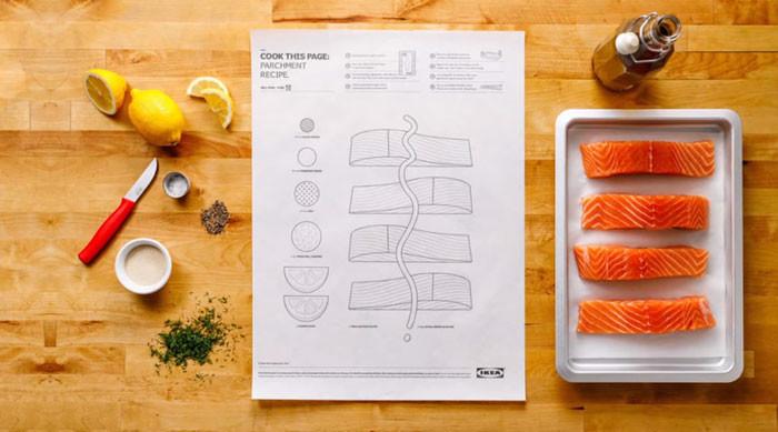 Лосось с лимоном и травами - ресторанное блюдо, которое с листом IKEA можно легко приготовить дома ikea, блюда, готовка, еда, легко, продукты, рецепты, фото