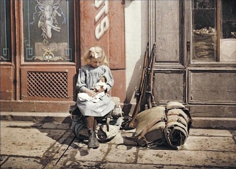1917 год XX век, автохром, братья Люмьер, краски, столетие, фотографии, фототехника, цвет