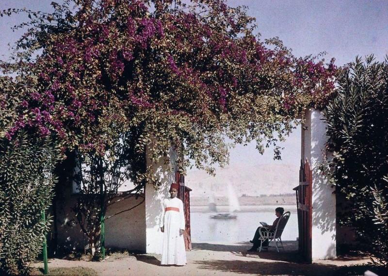 1920 год XX век, автохром, братья Люмьер, краски, столетие, фотографии, фототехника, цвет