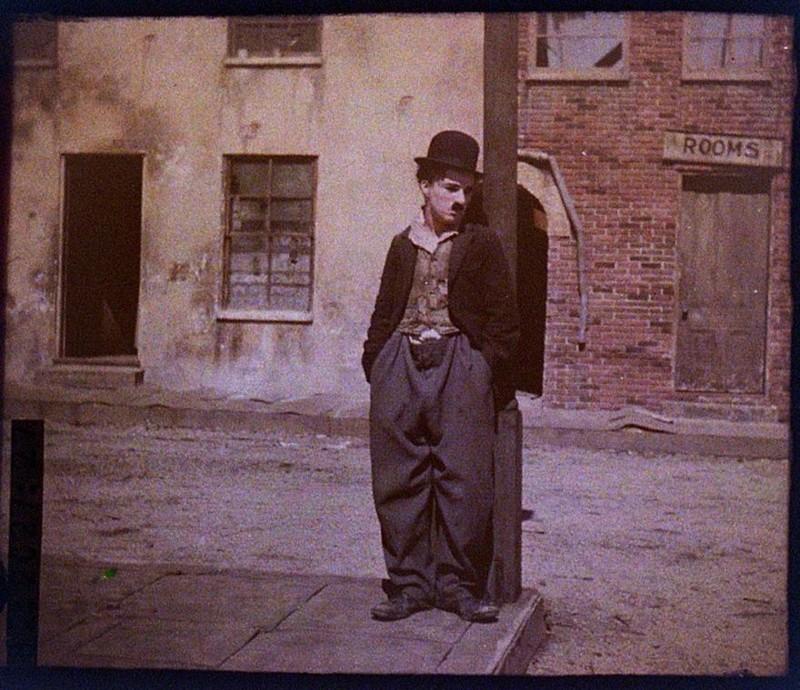1918 год XX век, автохром, братья Люмьер, краски, столетие, фотографии, фототехника, цвет