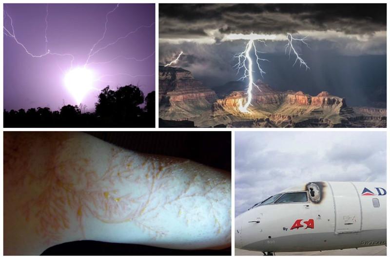 Молнии - красота и ужас с небес интересное, катастрофа, молнии, факты