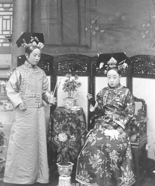 Принцесса Чун с матерью интересное, история, китай, фото