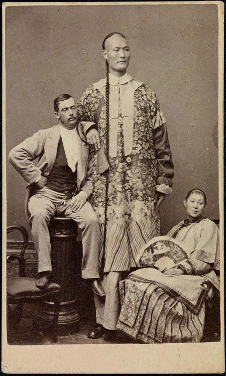 Китаец-великан (рост около 245 см) интересное, история, китай, фото
