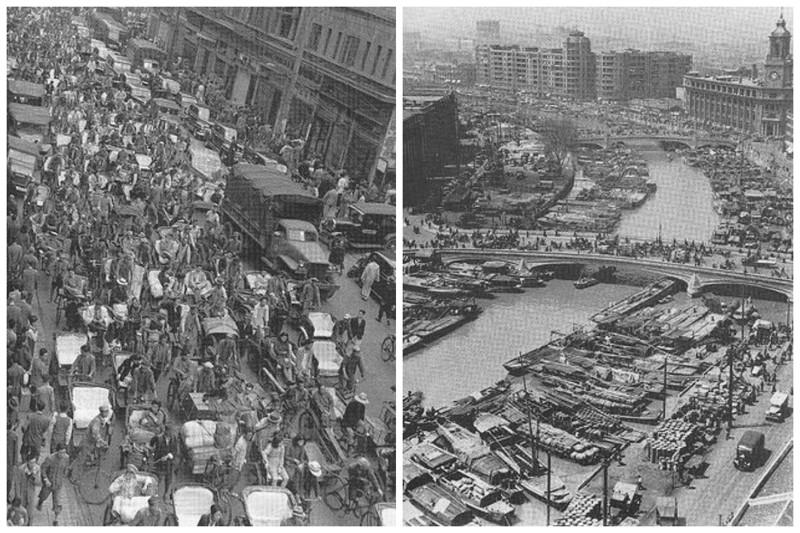 Виды Шанхая начала 20-го века интересное, история, китай, фото