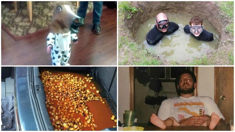 Подборка необъяснимых фотографий абсурд, необъяснимо, непонятно, подборка, смешно, странности, странные фото, юмор