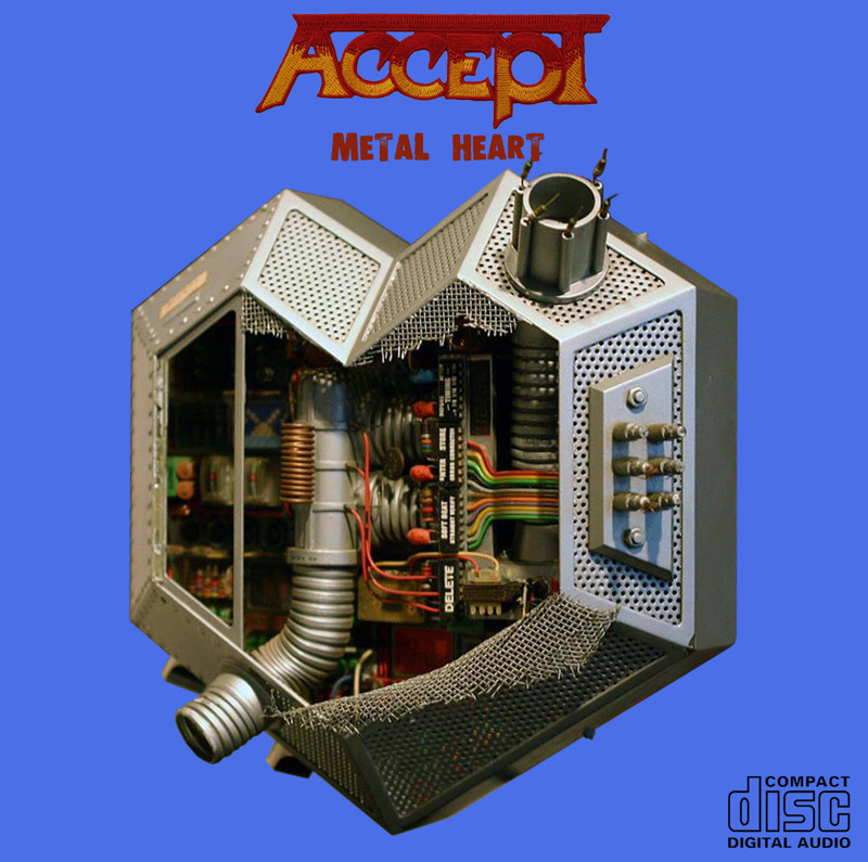 "Accept ""Metal Heart"" cover art, music, rock, прикол, юмор"