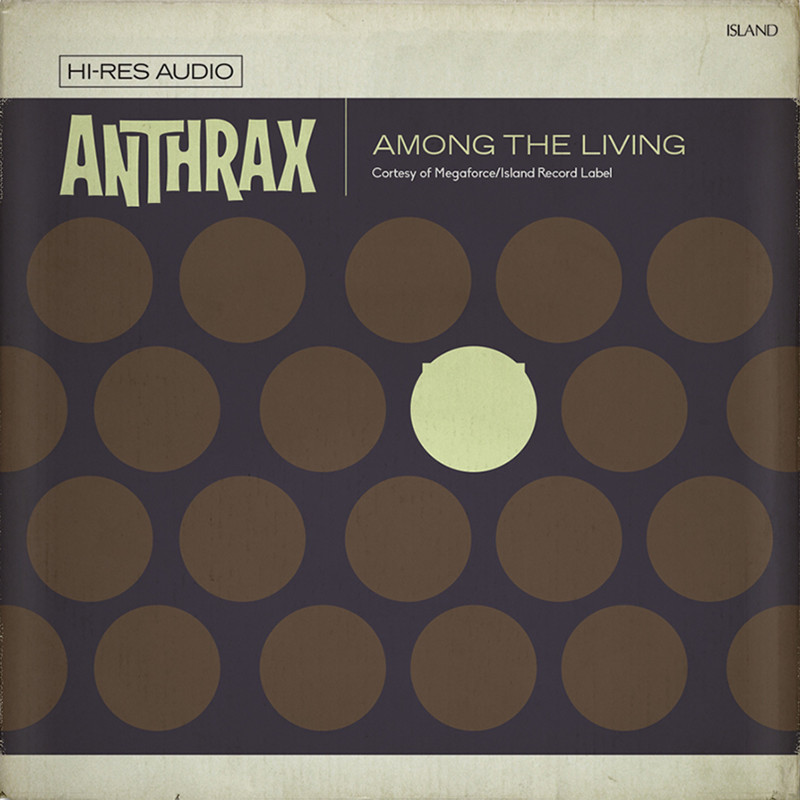 "Anthrax ""Among the Living"" cover art, music, rock, прикол, юмор"
