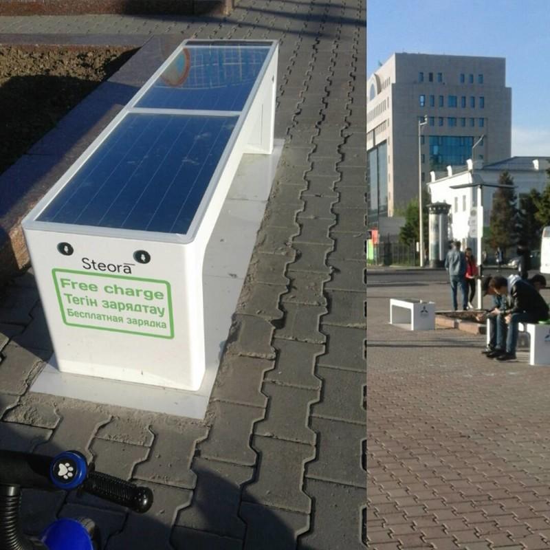 Лавочки с солнечными батареями для зарядки гаджетов вокруг нас, жизненно, прогресс, техника