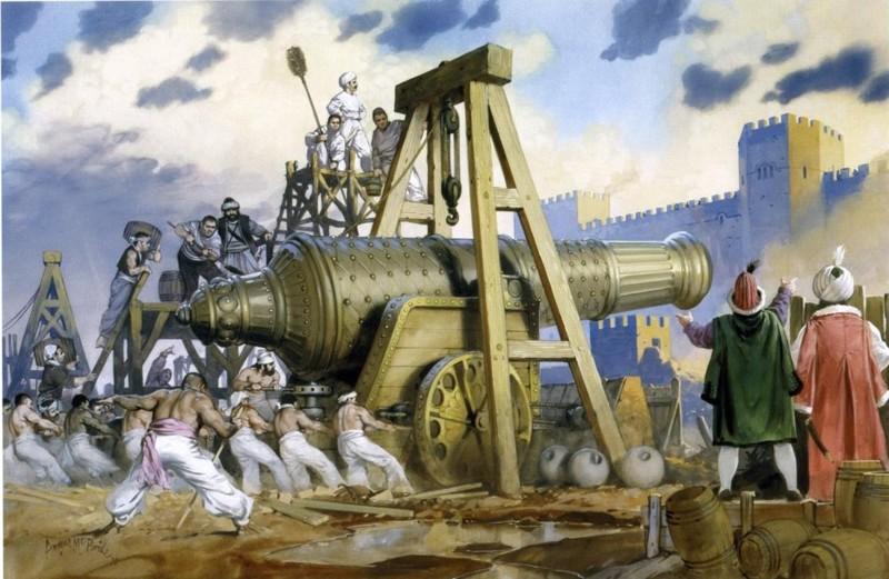 Базилика или Османская пушка интересное, оружие, пушки