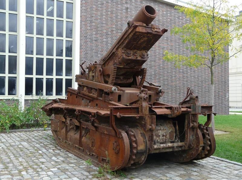Гаубица «Сен-Шамон» интересное, оружие, пушки