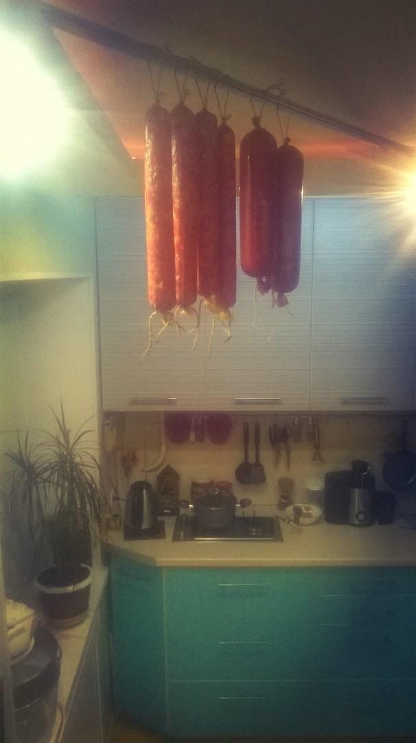 У кого в квартире кот - тот поймет! вкусно, домашнее, золотые руки, колбаса, муж