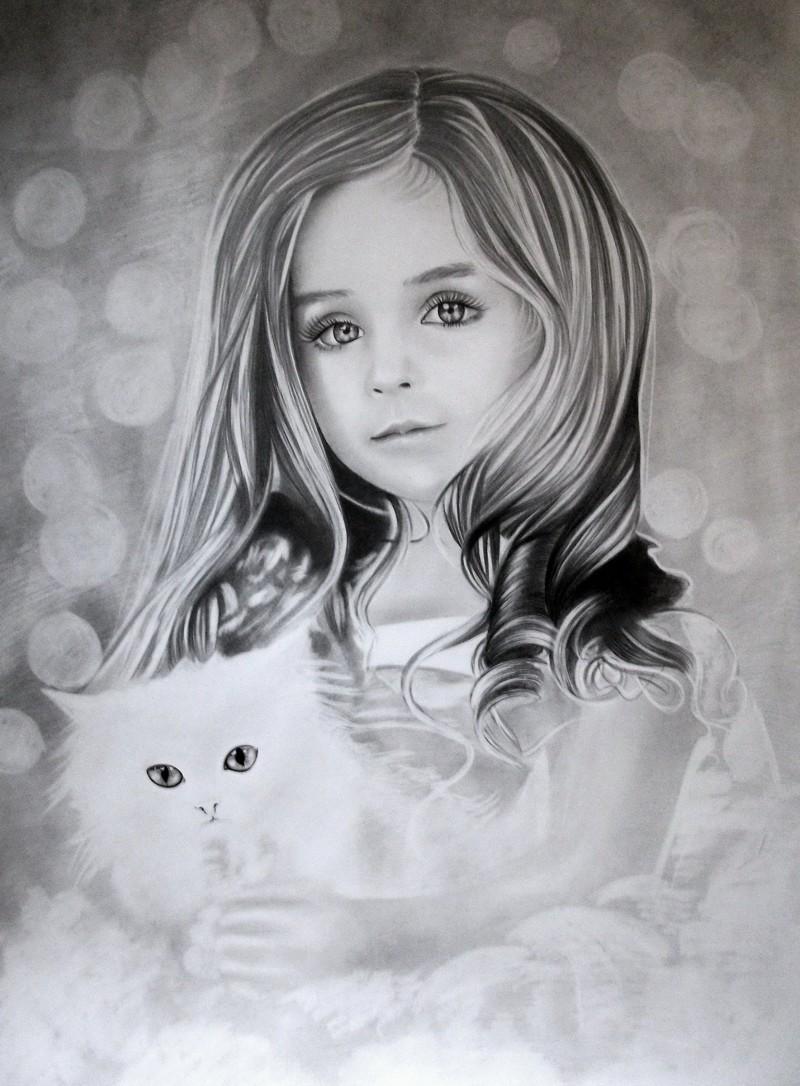 Красивые рисованные картинки фото