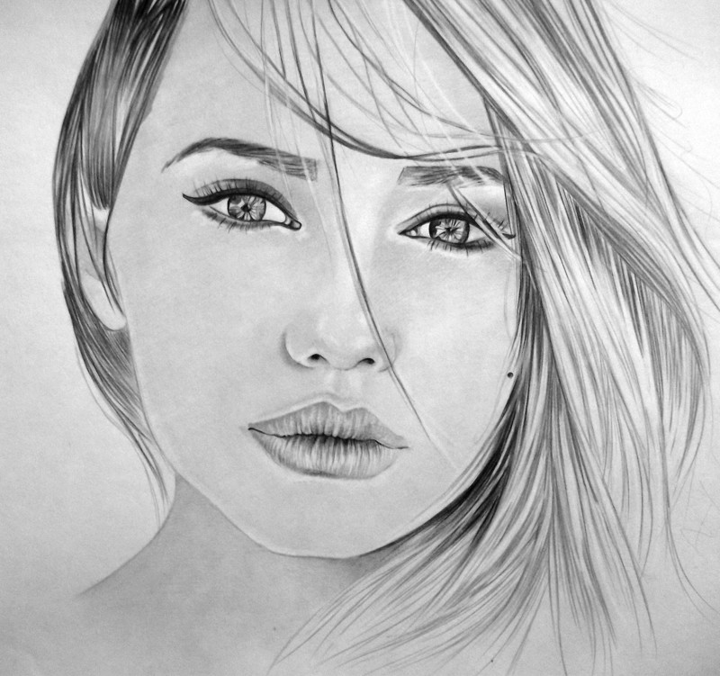 карандашом красивые картинки рисуем