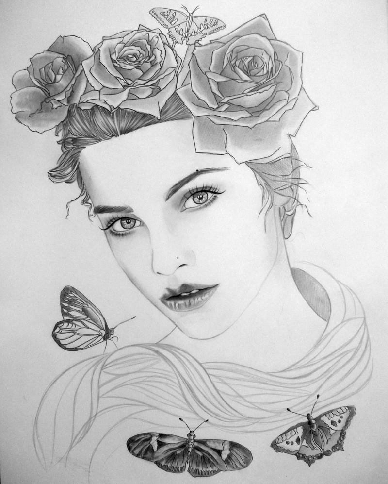 Картинки красивые картинки карандашом