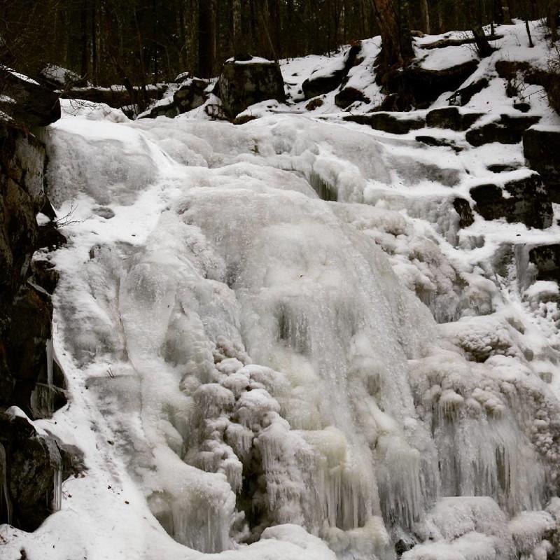 Тигровый водопад, Приморский край водопады, водопады России, водопады зимой, замёрзшие водопады, красивые водопады, природа России