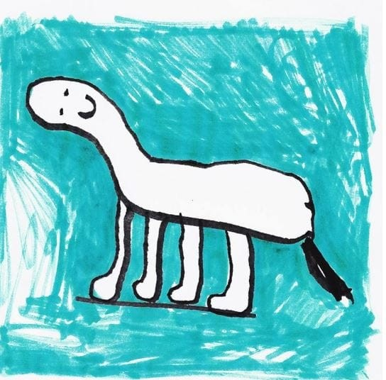 Ваши догадки? Собака, верблюд, лошадь? Instagram, дети, иллюстрации, креатив, рисунки, творчество, фотошоп, юмор