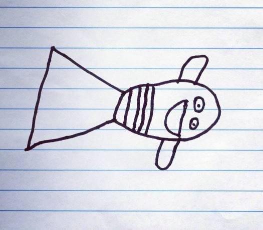 Рыбка Немо Instagram, дети, иллюстрации, креатив, рисунки, творчество, фотошоп, юмор