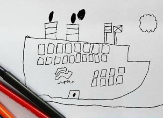 Корабль Instagram, дети, иллюстрации, креатив, рисунки, творчество, фотошоп, юмор