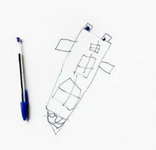 А это - ракета Instagram, дети, иллюстрации, креатив, рисунки, творчество, фотошоп, юмор