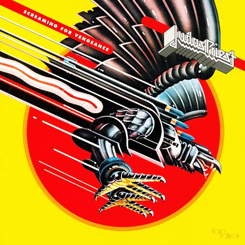 12. Judas Priest, 'Screaming for Vengeance' (1982) the 100 geatest metal albums, the rolling stone, металл