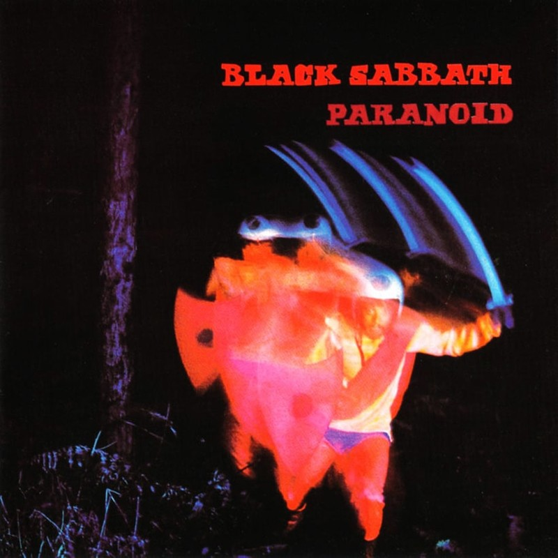 1. Black Sabbath, 'Paranoid' (1970) the 100 geatest metal albums, the rolling stone, металл