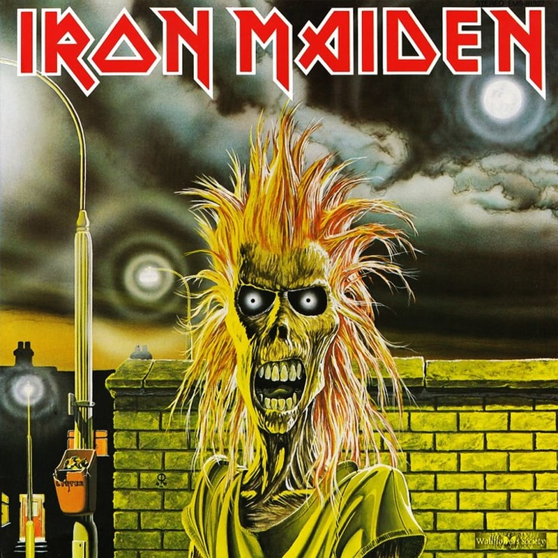 13. Iron Maiden, 'Iron Maiden' (1980) the 100 geatest metal albums, the rolling stone, металл