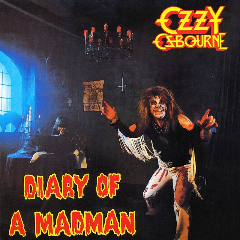 15. Ozzy Osbourne, 'Diary of a Madman' (1981) the 100 geatest metal albums, the rolling stone, металл