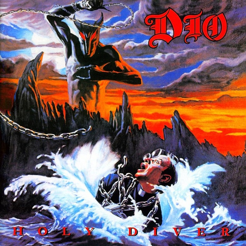 16. Dio, 'Holy Diver' (1983) the 100 geatest metal albums, the rolling stone, металл