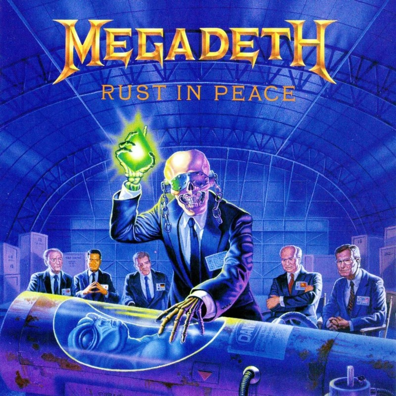 19. Megadeth, 'Rust in Peace' (1990)