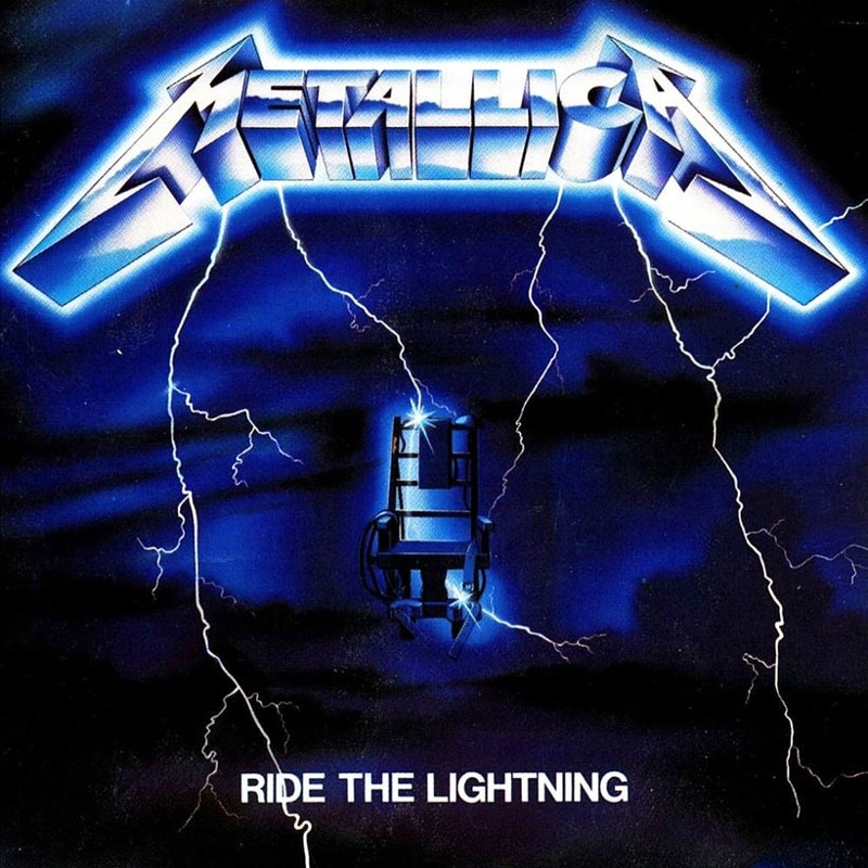 11. Metallica, 'Ride the Lightning' (1984) the 100 geatest metal albums, the rolling stone, металл