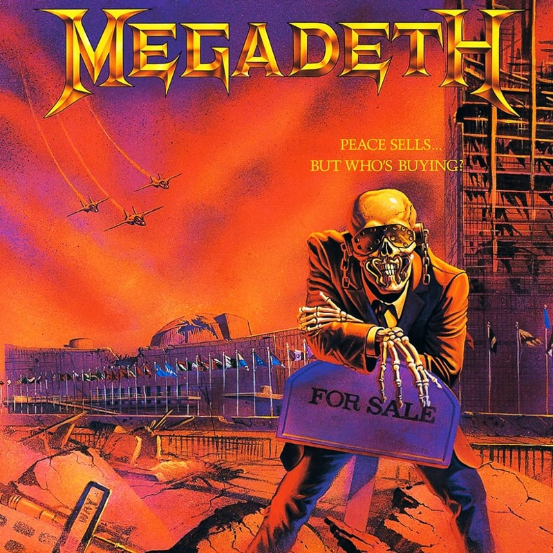 8. Megadeth, 'Peace Sells ... but Who's Buying?' (1986) the 100 geatest metal albums, the rolling stone, металл