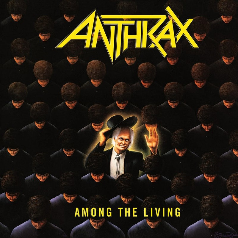 20. Anthrax, 'Among the Living' (1987) the 100 geatest metal albums, the rolling stone, металл