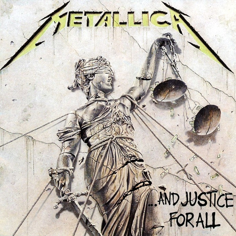 21. Metallica, '...And Justice for All' (1988) the 100 geatest metal albums, the rolling stone, металл